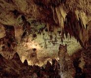 卡尔斯巴德洞穴 库存图片