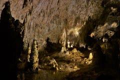 卡尔斯巴德洞穴 库存照片