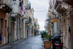 卡尔洛福尔泰撒丁岛-意大利的路 图库摄影