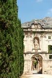 卡尔特教团dei修道院破坏scala西班牙 免版税库存图片