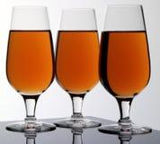 卡尔瓦多斯的三杯 免版税库存图片