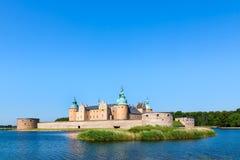 卡尔马城堡(瑞典) 免版税库存照片