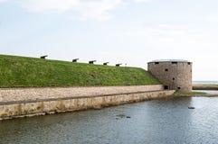 卡尔马城堡 免版税库存图片