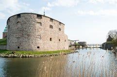 卡尔马城堡 免版税库存照片