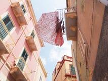 卡尔洛福尔泰, Isola di圣彼得罗,撒丁岛,意大利,欧洲 免版税库存图片