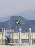 卡希亚斯公爵城堡垒在里约热内卢 库存照片