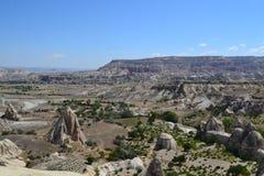 卡帕多细亚地区自然风景  库存照片
