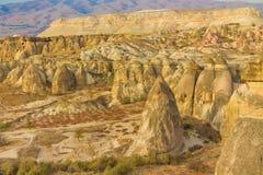 卡帕多细亚岩层谷 免版税库存图片