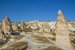 卡帕多细亚岩石站点  库存图片