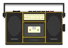 卡式磁带播放机 库存图片
