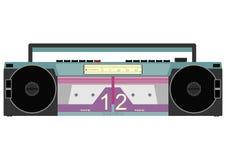 卡式磁带播放机 免版税库存图片