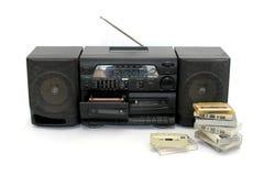 卡式磁带播放机 库存照片