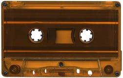 卡式磁带橙色磁带 免版税库存图片