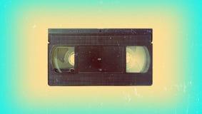 卡式磁带老录影 免版税库存照片