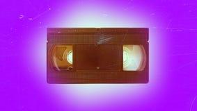 卡式磁带老录影 库存照片