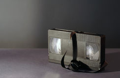 卡式磁带老录影 免版税库存图片