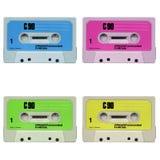 卡式磁带音乐磁带 库存图片