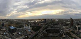卡扎克斯坦 首都阿斯塔纳 库存图片