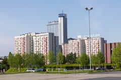 卡托维兹,波兰- 2018年5月05日:Altus塔在卡托维兹,波兰 免版税库存图片