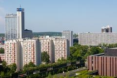 卡托维兹,波兰- 2018年5月05日:Altus塔在卡托维兹,波兰 库存照片