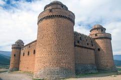 卡拉奥拉,西班牙城堡  库存照片