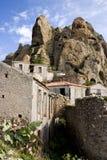 卡拉布里亚废墟 免版税库存照片