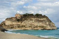 卡拉布里亚意大利tropea 免版税库存图片