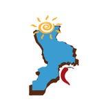 卡拉布里亚标志 免版税库存图片
