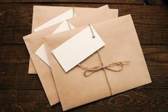 从卡拉服特pape的信封 免版税库存照片