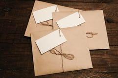 从卡拉服特pape的信封 库存图片