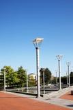 卡拉汉广场,加的夫 免版税库存图片