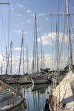卡拉迈希腊,Messinia,伯罗奔尼撒专区的奎伊  免版税库存图片