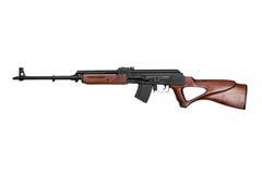 卡拉什尼科夫根据狙击步枪 免版税库存照片