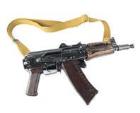 卡拉什尼科夫步枪 第三个保险杆位置 库存图片
