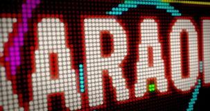卡拉OK演唱俱乐部 股票视频