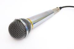 卡拉OK演唱的话筒 库存图片