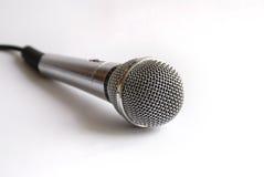 卡拉OK演唱mic 免版税库存图片