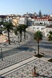 卡斯卡伊斯在葡萄牙 库存照片