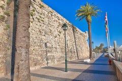 卡斯卡伊斯沿海城市的城堡  库存照片