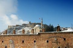 卡斯塔莫努城堡 库存照片
