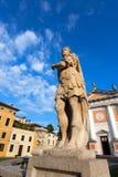 卡斯泰尔夫兰科韦内托-特雷维索意大利 免版税库存图片