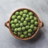 卡斯泰尔韦特拉诺绿橄榄 库存图片