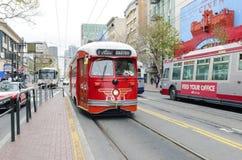 卡斯特罗自治都市,旧金山 免版税库存图片