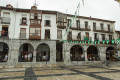 卡斯特罗-乌尔迪亚莱斯市政厅 免版税图库摄影