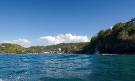 卡斯特里- La Toc海滩-圣卢西亚 图库摄影