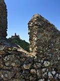 卡斯特鲁dos的Mouros停泊城堡 免版税图库摄影