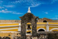 卡斯蒂略圣费利佩台尔Morrro,老圣胡安,波多黎各 库存图片