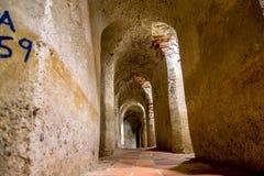 卡斯蒂略圣费利佩巴拉哈斯,印象深刻的堡垒 图库摄影
