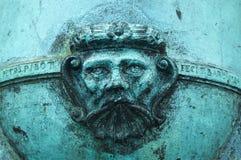 卡斯蒂略de圣马科斯大炮 免版税库存照片