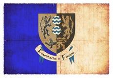 卡旺爱尔兰难看的东西旗子  免版税图库摄影